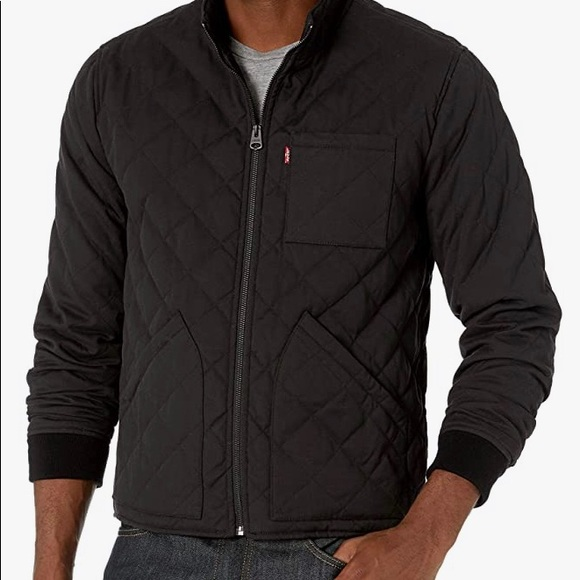 Levis Cotton Canvas Diamond Quilted Hunting Jacket